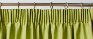 Услуги по пошиву штор на тесьме